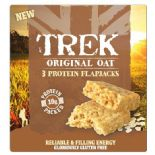 Trek Flapjack Original Oat 3 Pack 50g